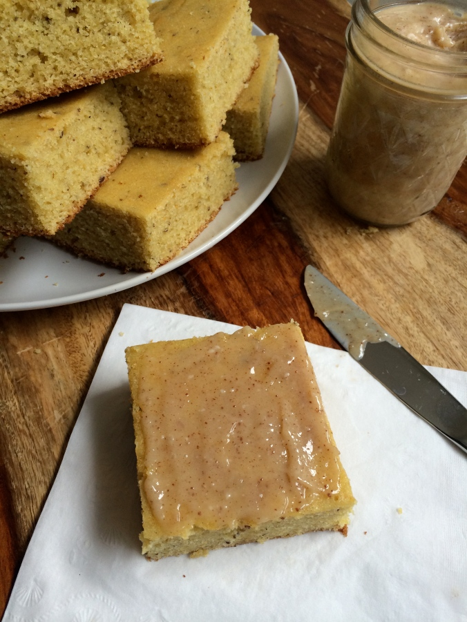 Cornbread with Salted & Browned Honey Butter
