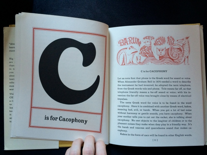"The Abecedarian Book ""C"""