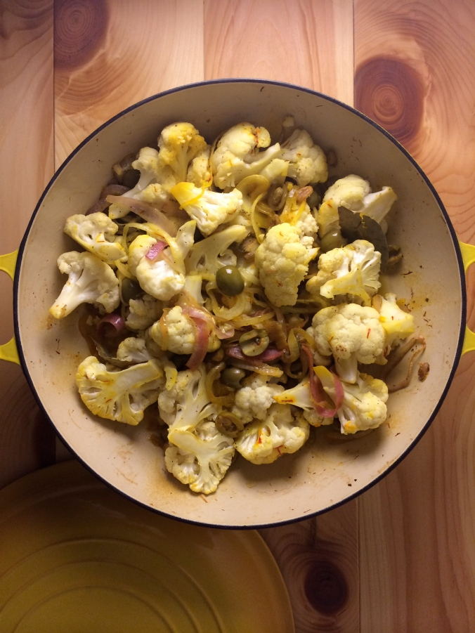 Saffron Cauliflower